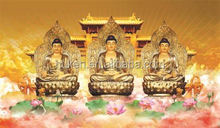 Super Quality China Buddha Poster Buddhist Meditation 3d Frames Bulk Yoga Statues 3D Led Display Boards For Trade Shows