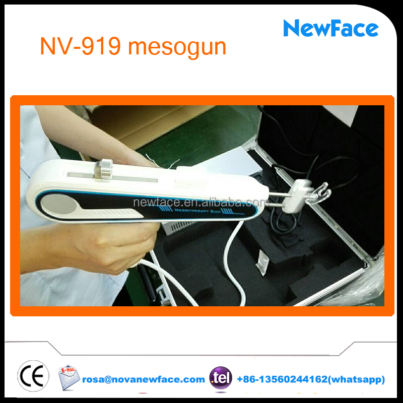 2017 trending product alibaba skin whitening injection price NV-919 mesotherapy gun