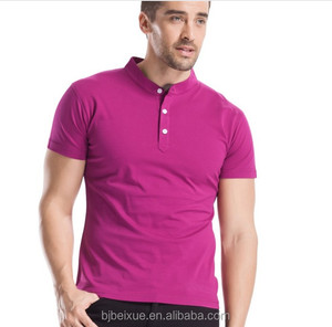 Chinese brand Cbydo 100% cotton red male polo shirts
