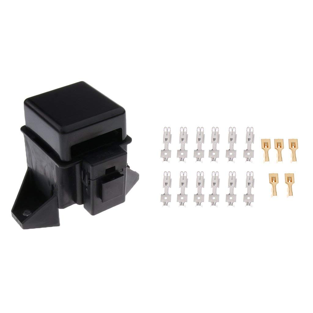 Universal Car Truck Vehicle 6 Way Circuit Automotive Middle-sized Blade Fuse FP