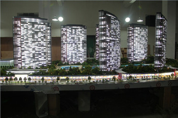 turkish perfect lighting 1 100 scale residential building model