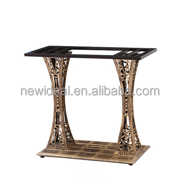 restaurant table legs wrought iron (NA5232)