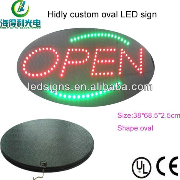 Hidly brightly cheapest acrylic sign holder led
