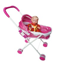 baby play high quality plastic doll mima stroller