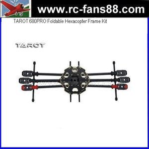 TAROT 680PRO Foldable Hexacopter Frame Kit TL68P00 Six-axle Aircraft Frame  Kit FPV