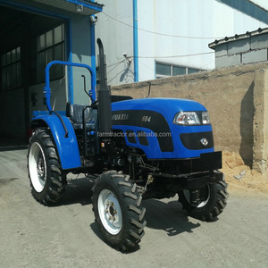 Factory supply low price strong chassis 55hp 60hp 4wd farm tractors in kenya