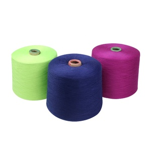 Wholesale china t-shirt yarn cotton polyester blended yarn price list