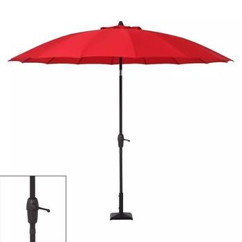 Sonoma 9 Ft Aluminum Outdoor Patio Umbrella W Crank Tilt Red