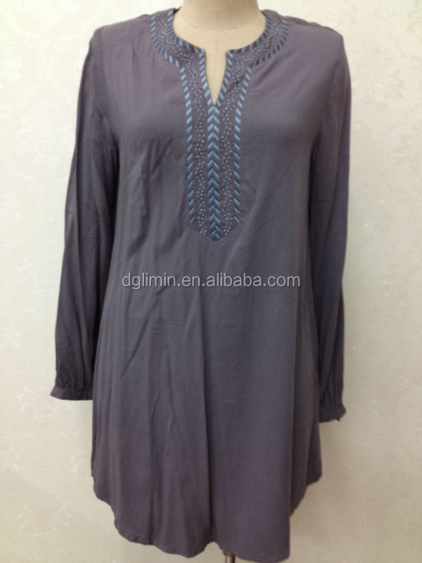 vintage kebaya nostalgia kurti light v neck line women kurta blouse with side zipper
