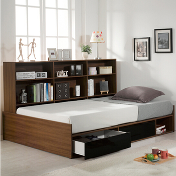 China Bed Room Furniture Bedroom Set Latest Designswith Bookshelfwith Drawers