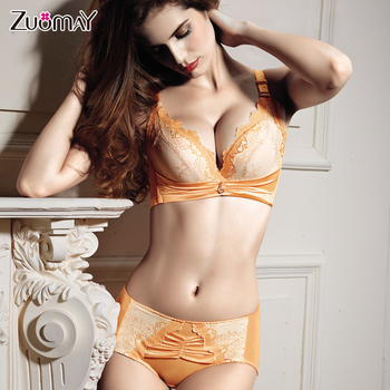 Gather Adjustable Fashionable Sexy Air Bra Panty Hot Girl Wearing Underwear And Bra