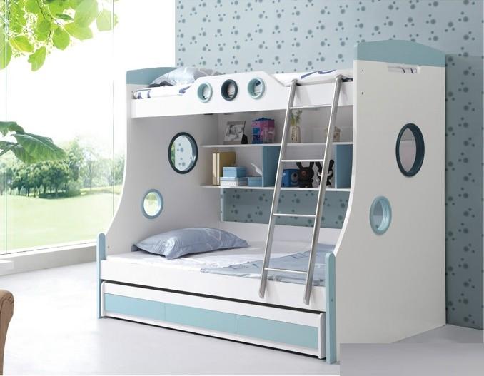 Etagenbett Kinder Mit Schrank : Günstige mdf etagenbett mit metallleiter und schiebebett buy