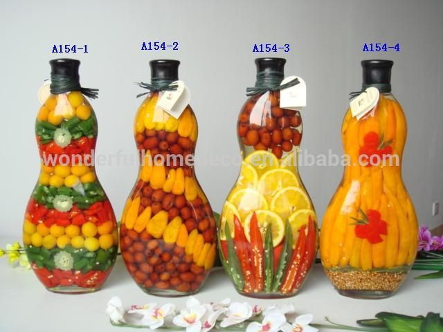 popular kitchen decoration glass bottles peppers buy