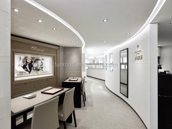 Jewelry shop interior design salon reception desk used jewelry ...