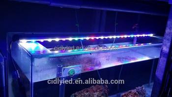 Double lense aquarium led bar lights cool white 14000k blue 450nm double lense aquarium led bar lights cool white 14000k blue 450nm reef grow 120cm led strip aloadofball Images