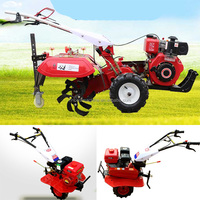 Great agriculture machinery equipment,mini power tiller, hand ploughing machine