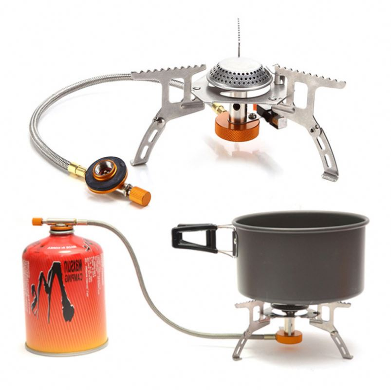 Sports & Entertainment Nice Stand Adapter Three Legs Camping Tripod Gas Stove Connector Ultralight Copper Tank Gas Tank Adapter Outdoor Stove Accessories Making Things Convenient For The People