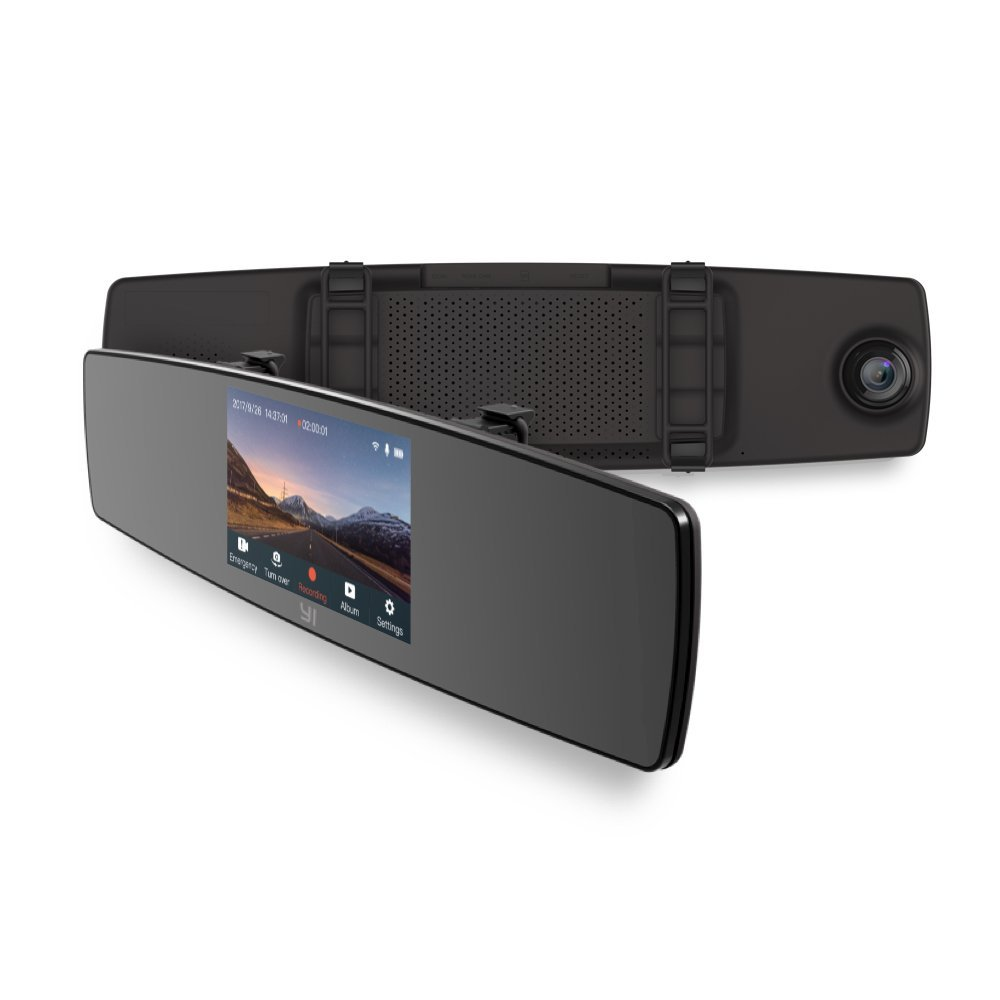 Cheap Hd 1080p Rear View Mirror Dash Cam Find Xiaomi Yi Smart Car Camera Dvr Tachograph Get Quotations Dual Dashboard Recorder With Touch Screen Front