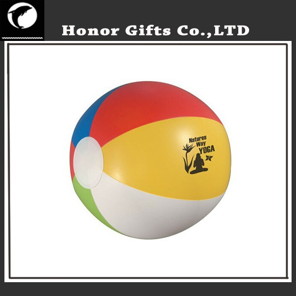2015 Wholesale Customized Brand Printed PVC Beach Ball