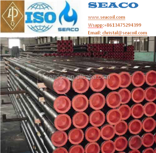 API 5DP spec Drill pipe for well drilling 4 inch Grade E