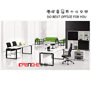 Office Furniture Table Set Used Solid Wood Office Desk For USA Market