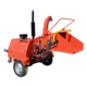 The New 22hp diesel engine electric start mobile wood chipper