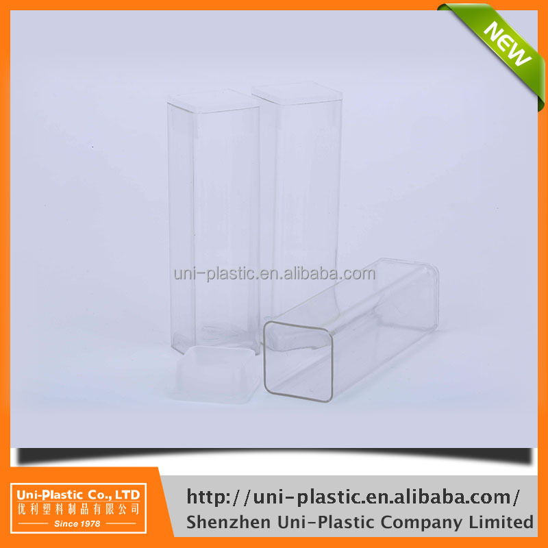 Model number T1012-20mm x 20mm x 90mm accept custom order plastic container food packaging
