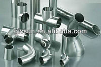 Chemical Industrial Stainless Steel Sanitary Pipe Fittings, supply weight of pipe fittings
