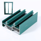 aluminium profile manufacturer 6063 T5 green powder coating aluminum extruded profiles