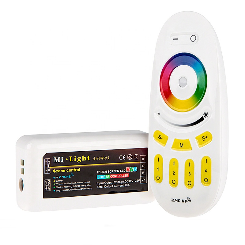 Milight 2.4G rgb RF WIFI LED <strong>controller</strong> wireless <strong>controller</strong> for led strip lights
