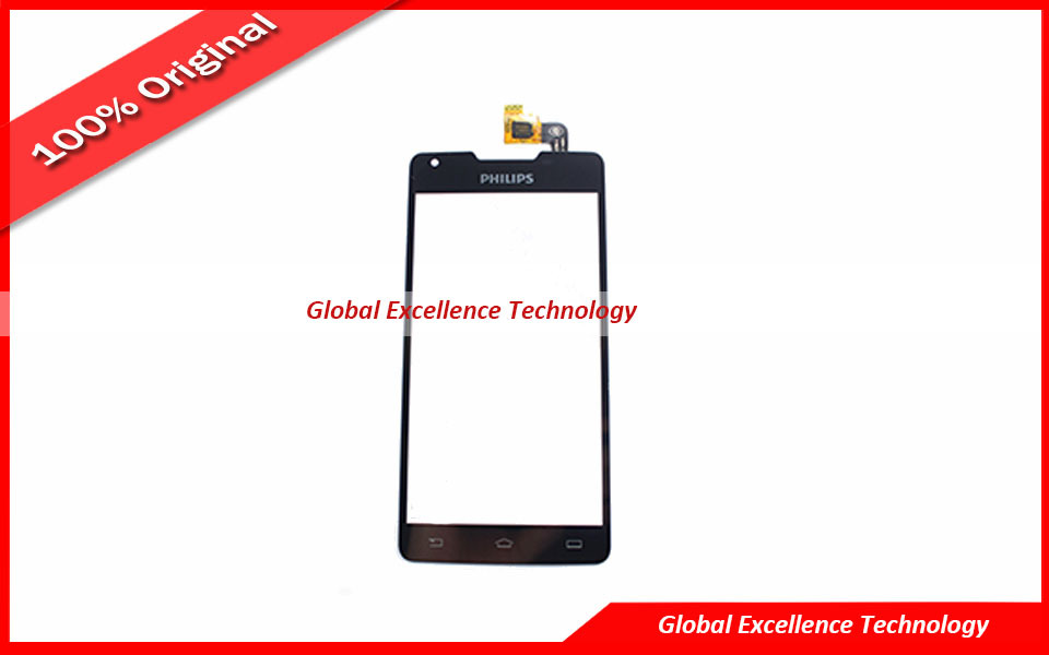 Black Original Touch Screen Digitizer For Philips ...