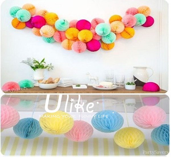Tissue Paper Honeycomb Decorations Rave Party Stage Decoration