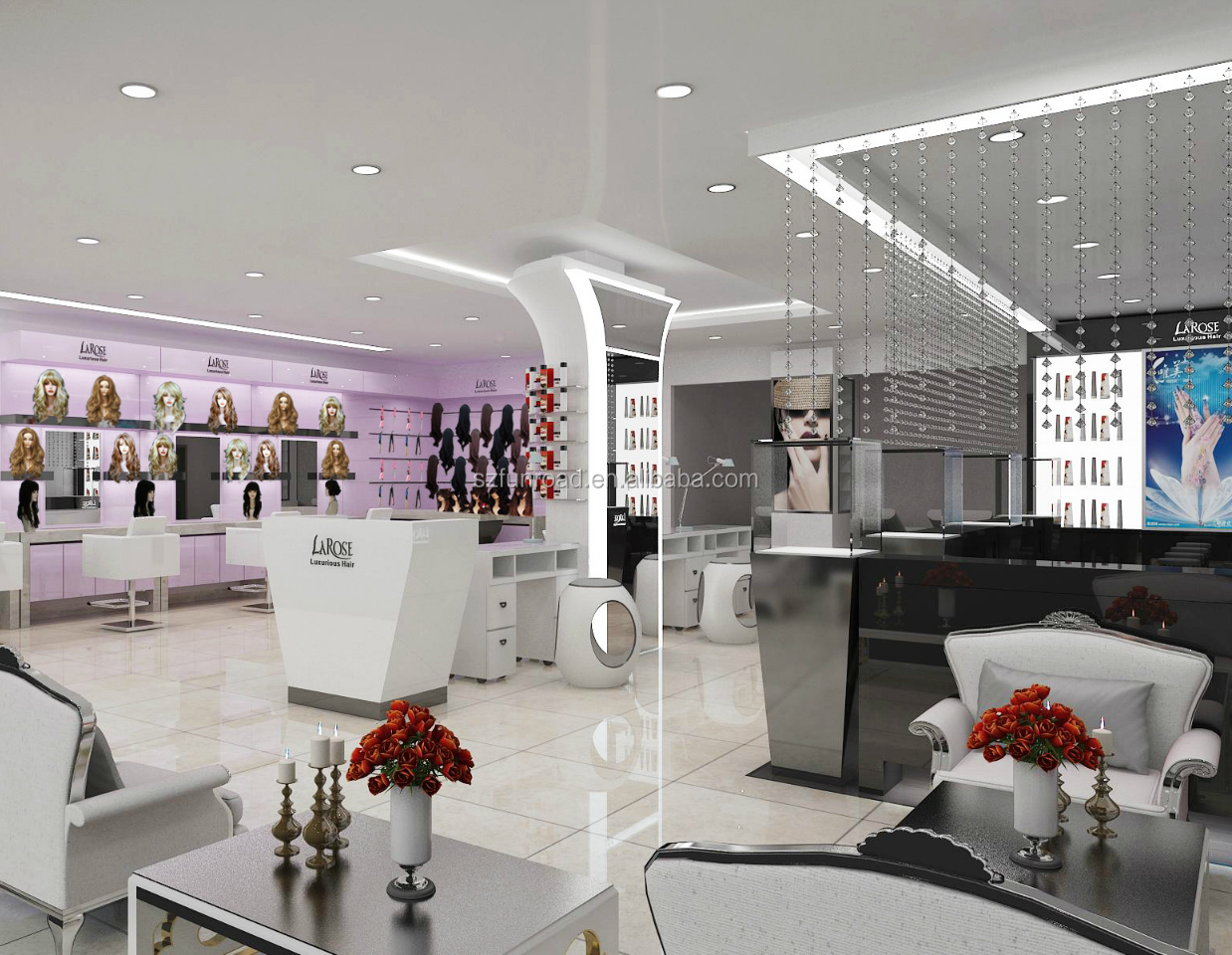 Classic Hair Salon Store Interior Design Barber Shop Furniture For Retail Shop View Hair Salon Store Interior Design Funroad Product Details From Shenzhen Carpentry Family Commercial Furniture Co Ltd On Alibaba Com