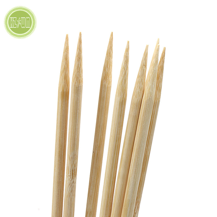 4.0mmX24cm Popular Kebab Spnish Bamboo Skewer for BBQ