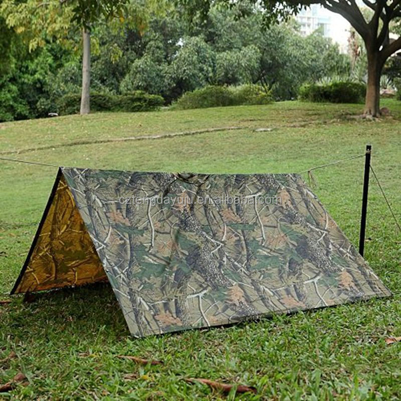 outdoor militory rubber rainponchos tent