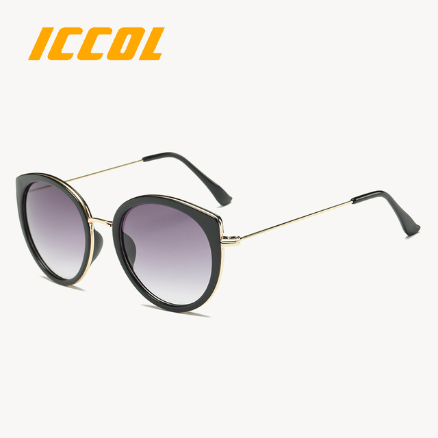 8e913c937a5 2017 Wholesale fashionable ladies girls colourful round glasses cat eye  glasses