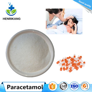 China manufacturers Supply raw material API Paracetamol powder in Bulk