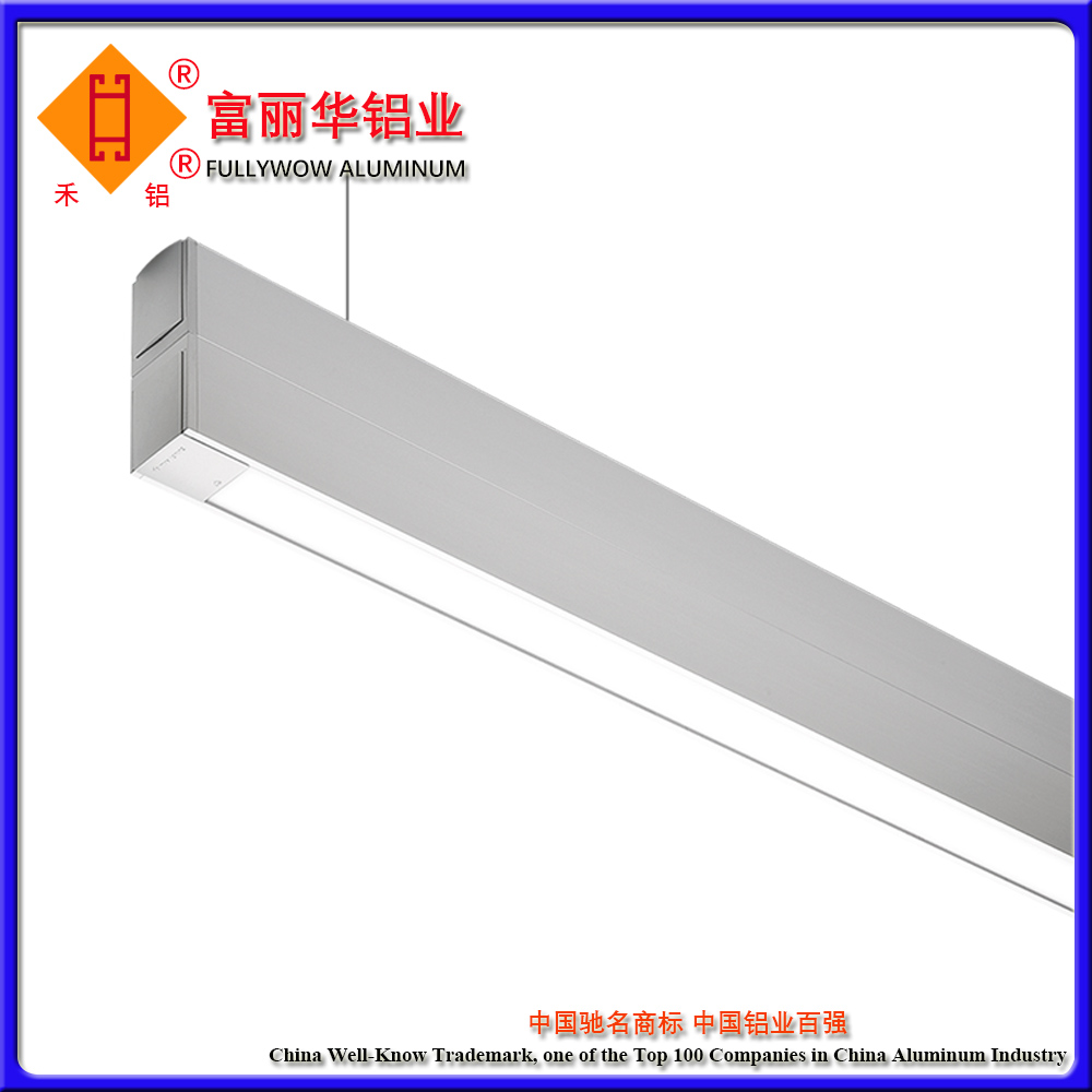 For LED Light Industry Aluminum Factory/Aluminium LED Sign Extrusion
