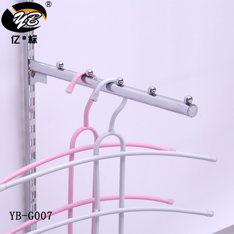 Security metal hook display stands bracket holding brackets for metal coat hooks