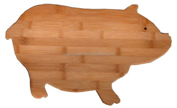 New Design Animal Shaped Cutting Board Fsc Bamboo & Wood ...