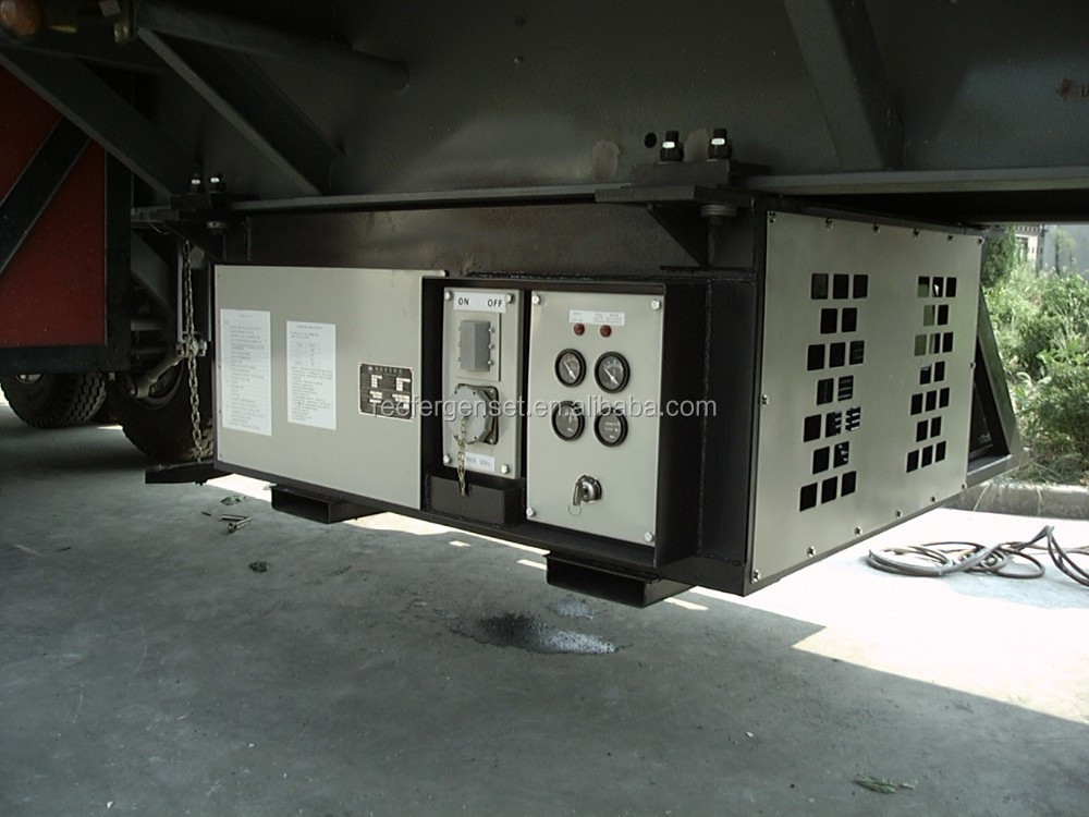 under mount genset for refrigerated container