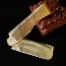 Wholesale foldable collapsible Horn hair Comb