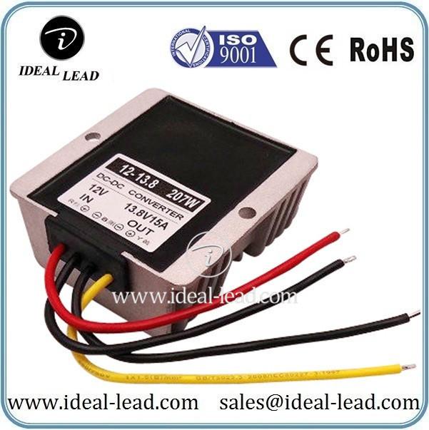 12Vdc to 13.8Vdc 15A converter