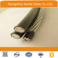 electrical cable PE insulation AAC Triplex AAAC Duplex ACSR