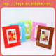 3D soft PVC wedding photo frame