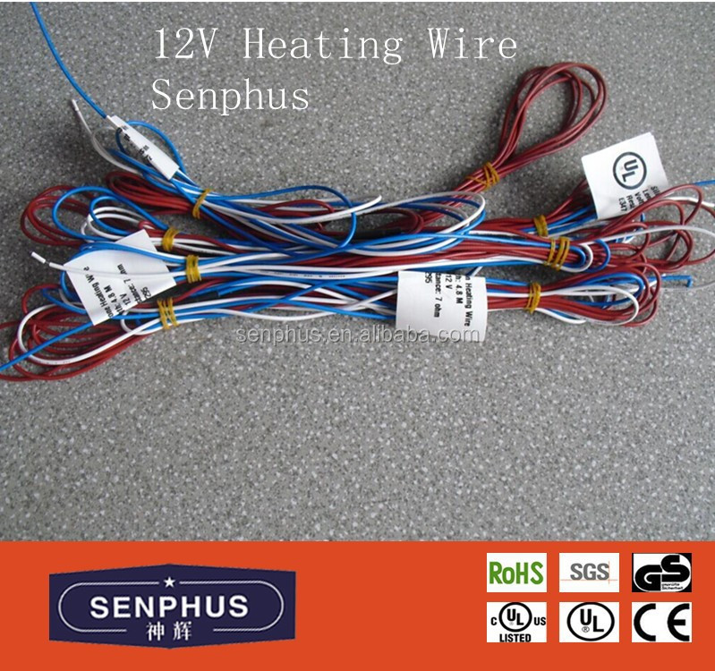 12v <strong>resistant</strong> heating wire of ul for all kinds of heating pads