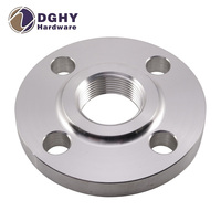 Dongguan metal working high quality product aluminum forged slip blind flange with low price