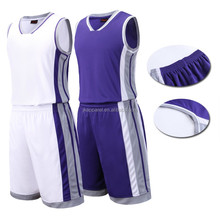 hot selling sublimation 100% polyester basketball uniform custom logo latest design for men