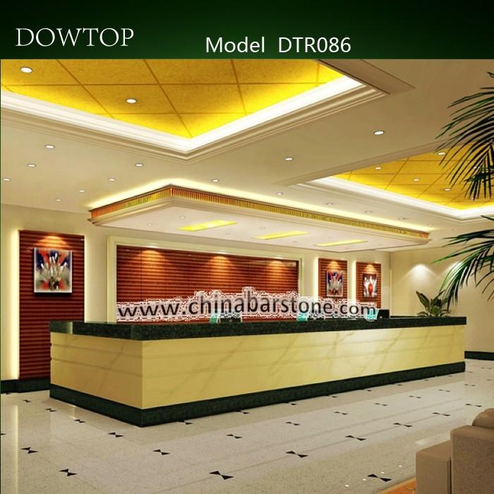 Modern Office Reception Interior Design: Modern Office Reception Counter Design For Hotel