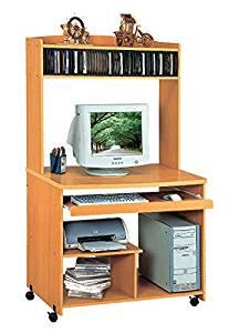 Smart Home Liam Desktop Tower Computer Desk (Small, Golden Beech)